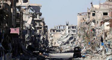 En Raqqa el 80% de sus edificios están destruidos