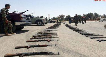 """Continúa desarme del """"Ejército del Islam"""", en Dumair"""