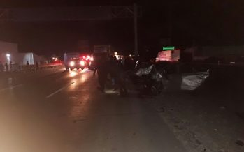 Cierre parcial en Carretera México-Querétaro por accidente