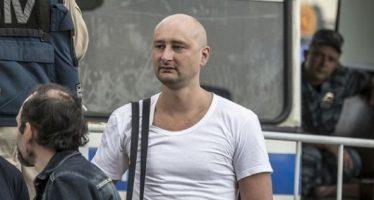 """El periodista ruso """"asesinado"""" en Kiev está vivo"""