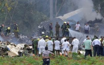 Cae avión con 104 pasajeros a bordo tras despegar de La Habana
