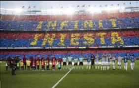 Barcelona gana Real Sociedad y Andrés Iniesta se despide