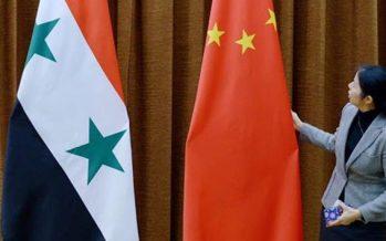 China apoya el papel de Rusia en Siria