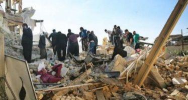 Continúan los sismos en Irán, ahora uno de 4.8 grados