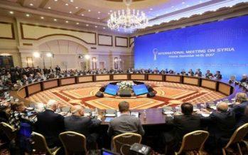 Cumbre de Astaná apoya la soberanía e integridad de Siria