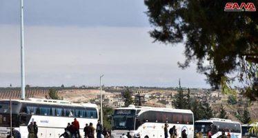 62 autobuses con terroristas a bordo salen de Homs y Hama