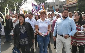 Lorena Osornio propone regular el comercio informal en la capital