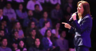 Zavala agradece apoyo de medios de comunicación en su campaña