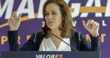 Margarita Zavala pide moderar el tono de las campañas políticas