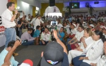 Mikel Arriola rebasa a Barrales en intención del voto encuesta