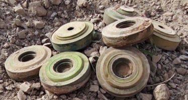 Descubren centenares de minas de la OTAN en Siria