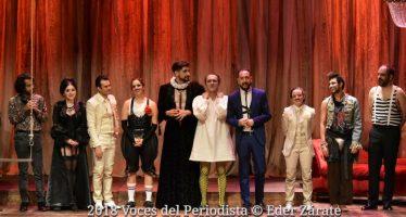 """""""Noche de reyes"""", obra de teatro multipremiada, se presentará en el Teatro Helénico"""