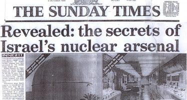 Israel: 200 armas nucleares apuntan a Irán