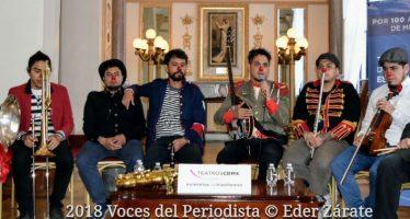 Triciclo Circus Band celebrará su noveno aniversario con un espectáculo lleno de narices rojas, invitados y sorpresas