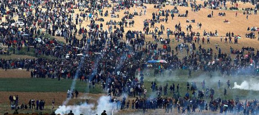 Fuerzas israelíes utilizan en Gaza, municiones contra palestinos
