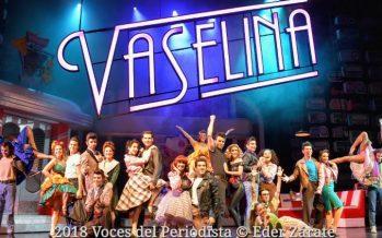 """Exitoso estreno de """"Vaselina"""" en el Teatro San Rafael"""