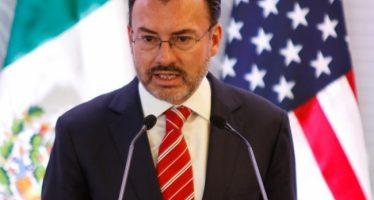 Discute Videgaray con Sullivan respeto a migrantes