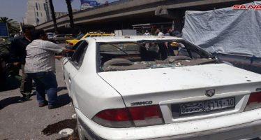 Ataque con cohete contra el centro de Damasco deja heridos