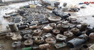 Ejército desactiva artefactos explosivos en Damasco