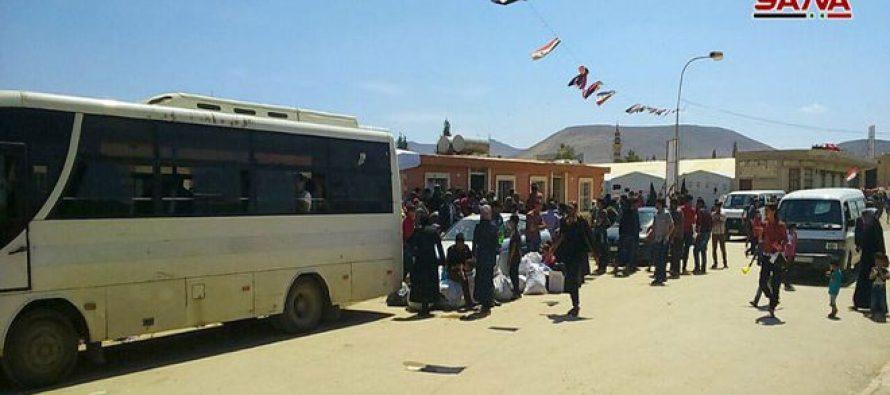 Decenas de familias regresan a sus hogares en Ghouta Oriental