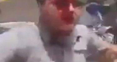 Militares turcos reprimen a manifestantes en territorio sirio
