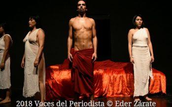 Última función de Antonio y Cleopatra de William Shakespeare en el Teatro Rodolfo Usigli