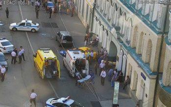 Dos mexicanas heridas en Moscú, atropelladas por un taxi