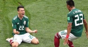 México hace historia en una Copa del Mundo y derrota 1-0 a Alemania