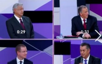 Hoy, último día para enviar preguntas para tercer debate