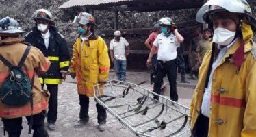 Declara Guatemala alerta roja en Volcán de Fuego