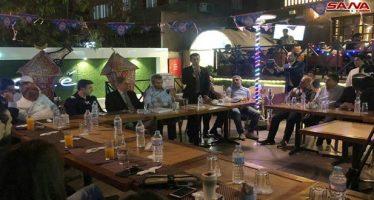 Estudiantes sirios participarán en reconstrucción de patria