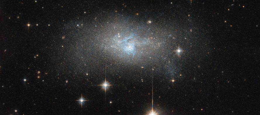 NASA muestra una galaxia peculiar