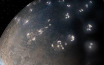Los rayos de Júpiter y de la tierra son casi gemelos