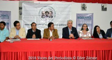 Anuncian marcha ciudadana en Puebla contra la No Reelección