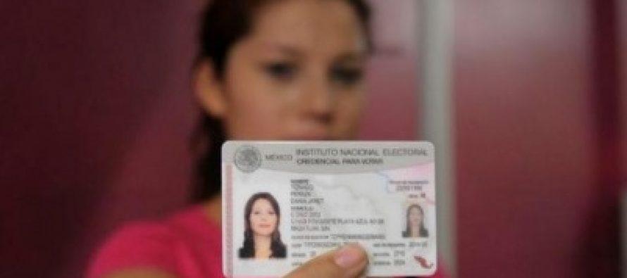 Podrá pedirse reimpresión de credencial del INE hasta 20 de junio