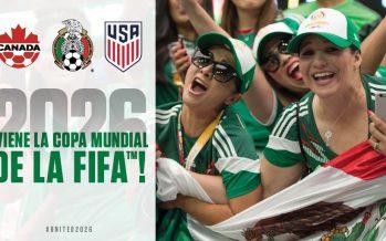 Mundial del 2026 será en México, EEUU y Canadá