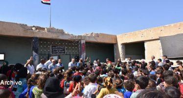 familias empiezan a regresar a sus localidades en campo de Idleb