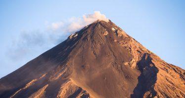 El volcán guatemalteco vuelve a presentar actividad
