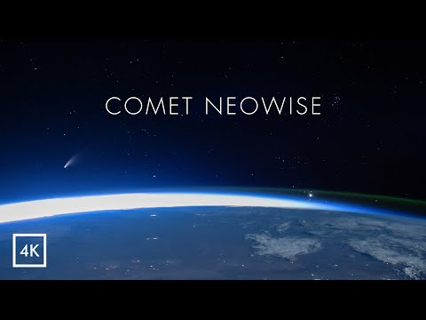 Comet NEOWISE from ISS [ 4K ]