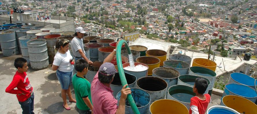 Hasta el martes se normalizará el suministro de agua en la Ciudad de México