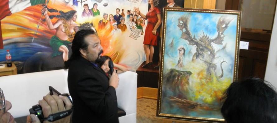 Arte pictórico en la galería del Club de Periodistas: Osadías de José Cruz Pacheco