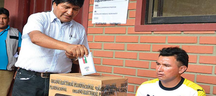 Resultados preliminares dan el No a la reelección de Evo Morales como presidente de Bolivia
