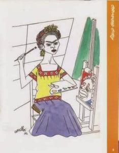 Frida en interpretación de Carrillo