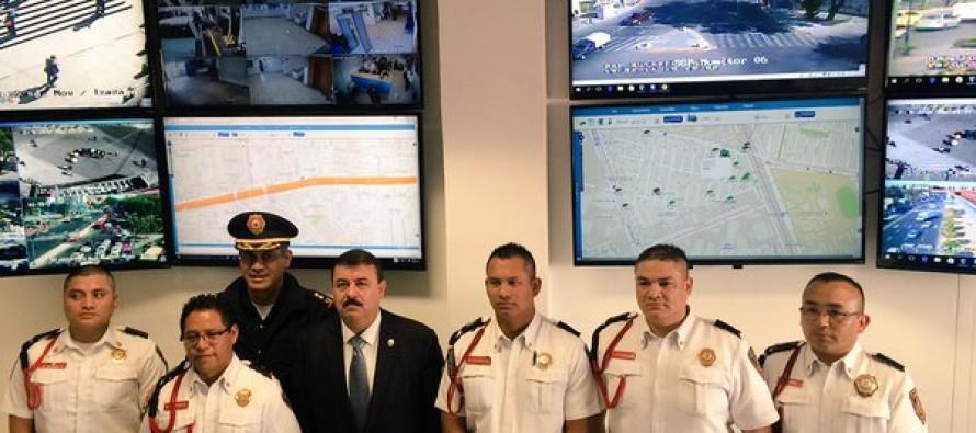 Hiram Almeida inaugura Centro de Operaciones Policiales en la Ciudad de México