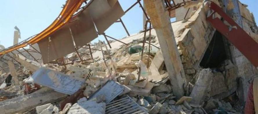 Bombardeo a hospital deja 8 muertos, en Siria