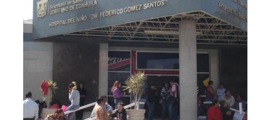 Mueren dos niños en hospital de Saltillo por falta de higiene