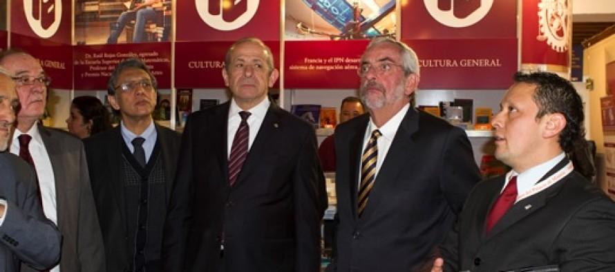 Rector de la UNAM inauguró la nueva Feria Internacional del Libro en el Palacio de Minería