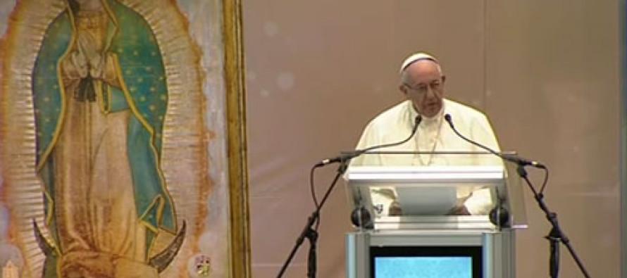 La pobreza, caldo de cultivo para el narcotráfico, dijo el Papa Francisco en Ciudad Juárez