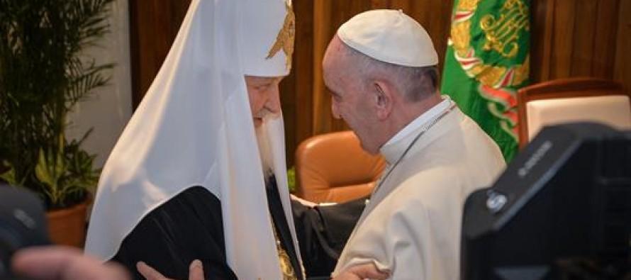 Se reúnen el Papa Francisco y el Patriarca Kiril, en encuentro histórico