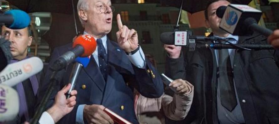 La ONU suspende las pláticas de paz para Siria y las pospone para el 25 de febrero